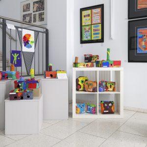 Galerie im Treppenhaus Foto: Katja Eidam
