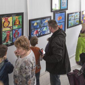 Vernissage Galerie im Treppenhaus Foto: Katja Eidam