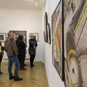 Vernissage Thomas Heinicke Foto: Katja Eidam